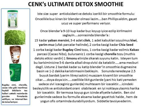 Cenk' ultimate smoothie